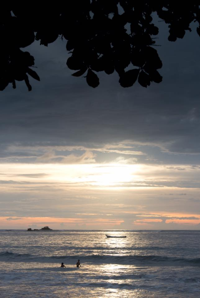 Pre-sunset magic in Tamarindo, Costa Rica. Photographed by Kristen M. Brown, Samba to the Sea Photography.