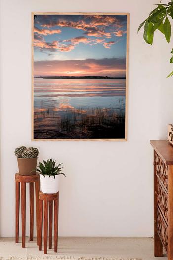 Beautiful summer sunset in Savannah, Georgia. Fine art print by Kristen M. Brown, Samba to the Sea.